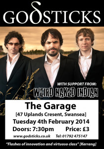Godsticks Swansea Poster Feb 2014