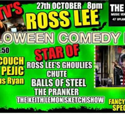 comedy night october 27th